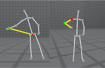 骨格点の「距離・角度」計測