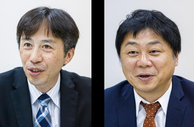 (左)執行役員 伊那工場長 茂木 展義 氏、(右)経営管理部 課長 岩本 将実 氏