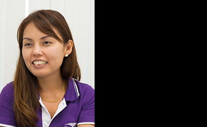 (生産事務)Ms. Charunsap Rattanatiyapron(Kung)
