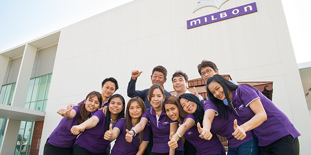 | MILBON (THAILAND) CO., LTD. / 株式会社ミルボン | mcframe