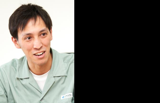 住友重機械工業株式会社 千葉製造所 プラスチック機械事業部 製造部 製造課 船見 勇輝 氏