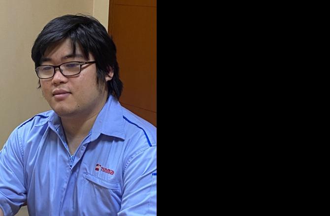 PT. TENMA CIKARANG INDONESIA Manager 金城 奇龍 氏