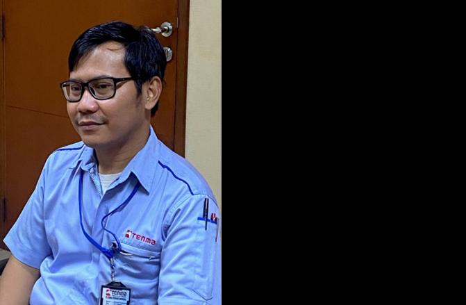 PT. TENMA CIKARANG INDONESIA Assistant Manager Ahmad Hidayatul Wildan 氏