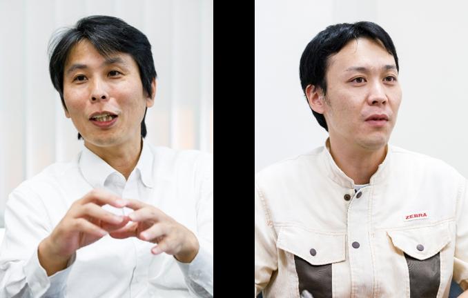 (左) ゼブラ株式会社 社長室IT企画推進課 課長 中島 学 氏